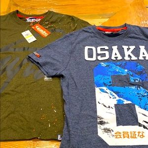 NEW Superdry Men's Tee Shirts (2)